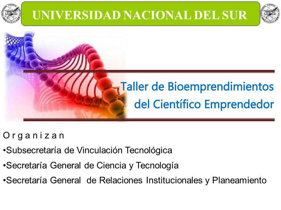 Bioempresas.19 de Octubre, 18hs.