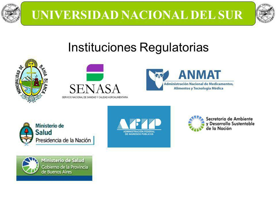 GTEC UNS UNIVERSIDAD NACIONAL DEL SUR Instituciones Regulatorias