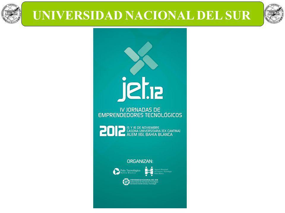 GTEC UNS Gestión de la tecnología y la Innovación UNIVERSIDAD NACIONAL DEL SUR