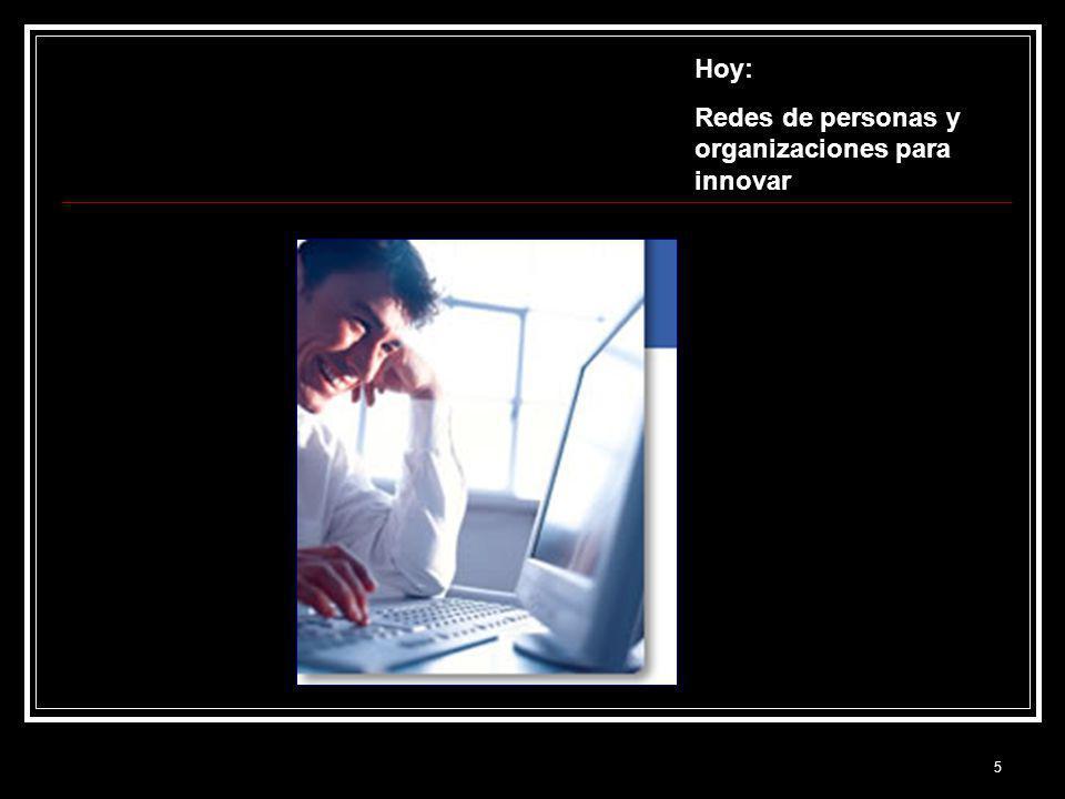5 Hoy: Redes de personas y organizaciones para innovar