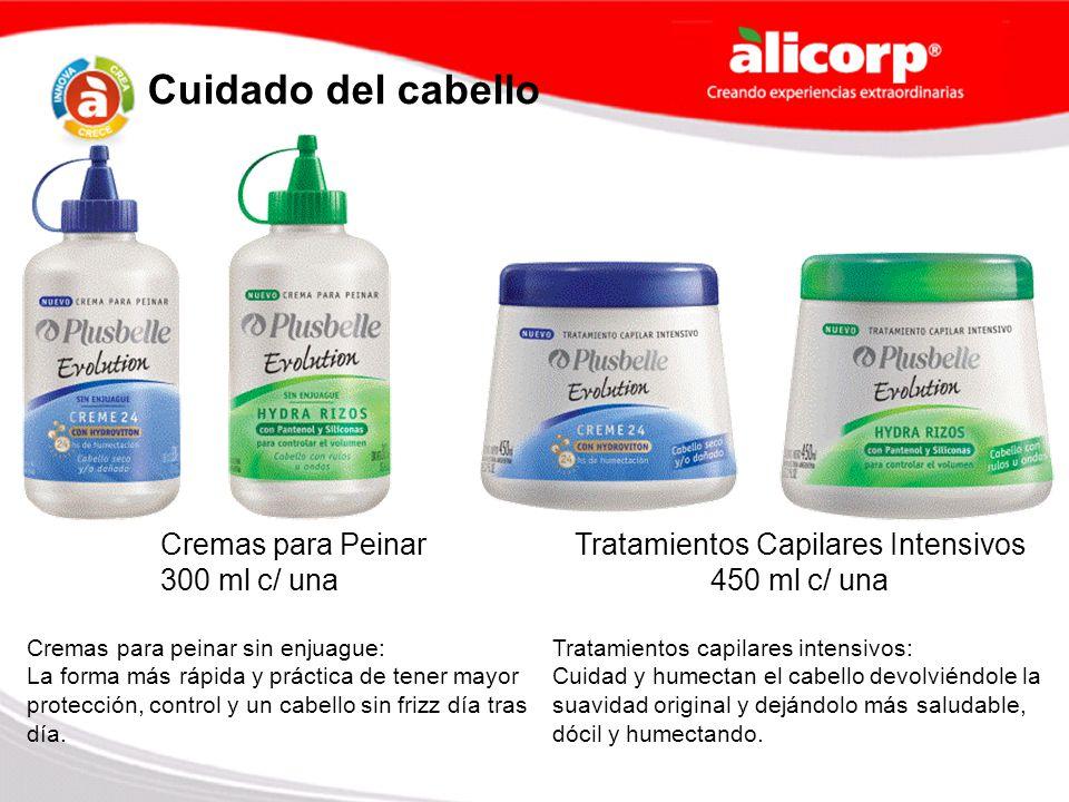 Cremas para Peinar 300 ml c/ una Tratamientos Capilares Intensivos 450 ml c/ una Cuidado del cabello Cremas para peinar sin enjuague: La forma más ráp