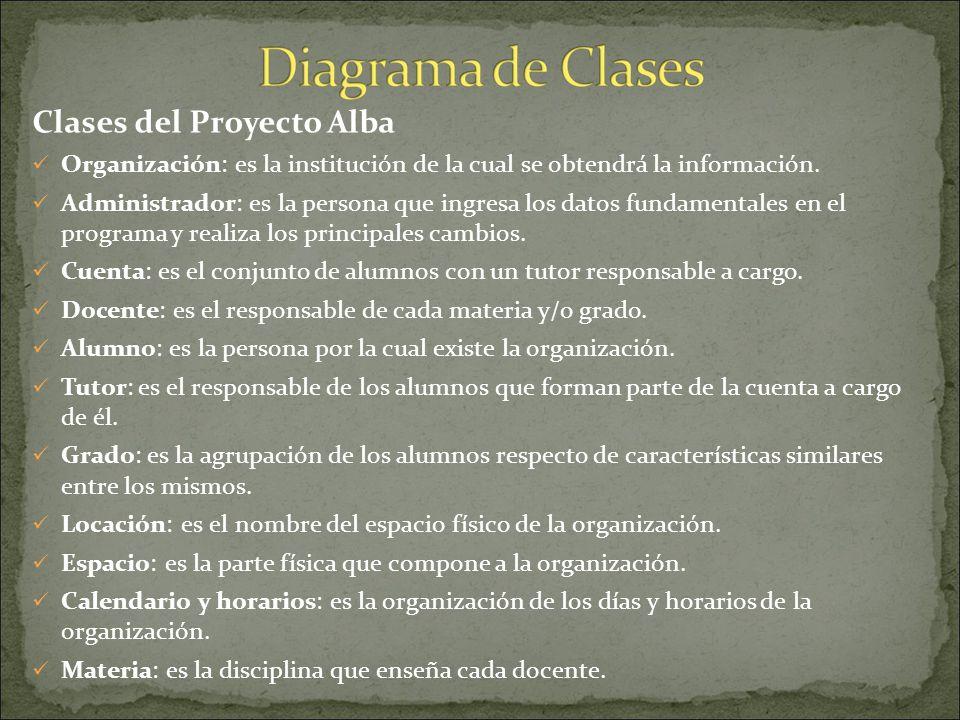 En base a estas clases, que los Alumnos de Analista de Sistemas definimos y tomamos como principales, comienza el desarrollo y la creación de los demá