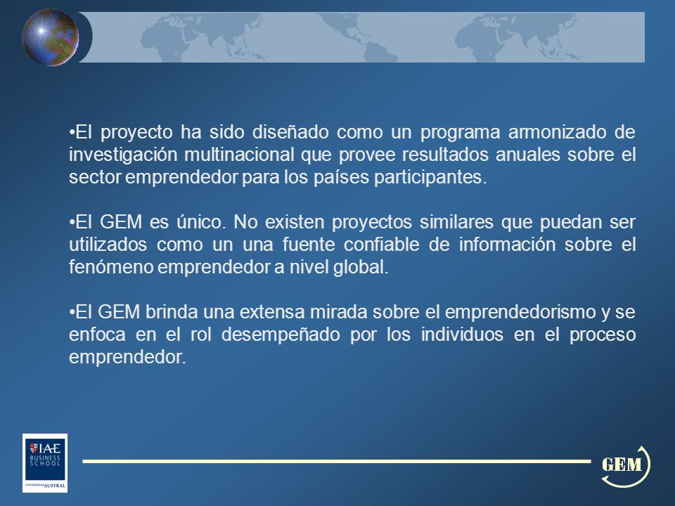 Actividad Emprendedora de Fase Temprana (TEA) Emprendedor por Oportunidad Emprendedor por Necesidad Hombres Emprendedores Mujeres Emprendedoras Argentina14.4%60.4%32.2%17.5%11.34% Brasil12.7%56.9%41.6%12.73%12.71% Chile13.4%72.9%23.8%16.45%10.43% Colombia22.7%55.3%40.9%26.91%18.77% RepúblicaDominicana16.8%68.9%29.5%18.91%14.50% Perú25.9%68.1%31.7%25.74%26.06% Uruguay12.2%63.3%31.4%17.33%7.19% Venezuela20.2%66.1%32.0%23.50%16.81%