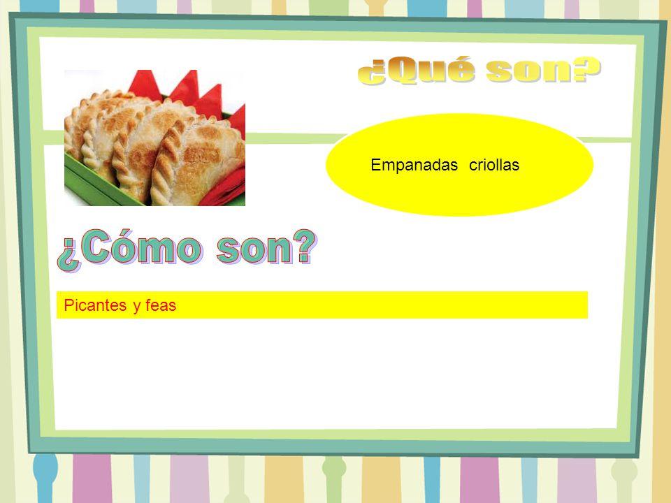 Empanadas criollas Picantes y feas