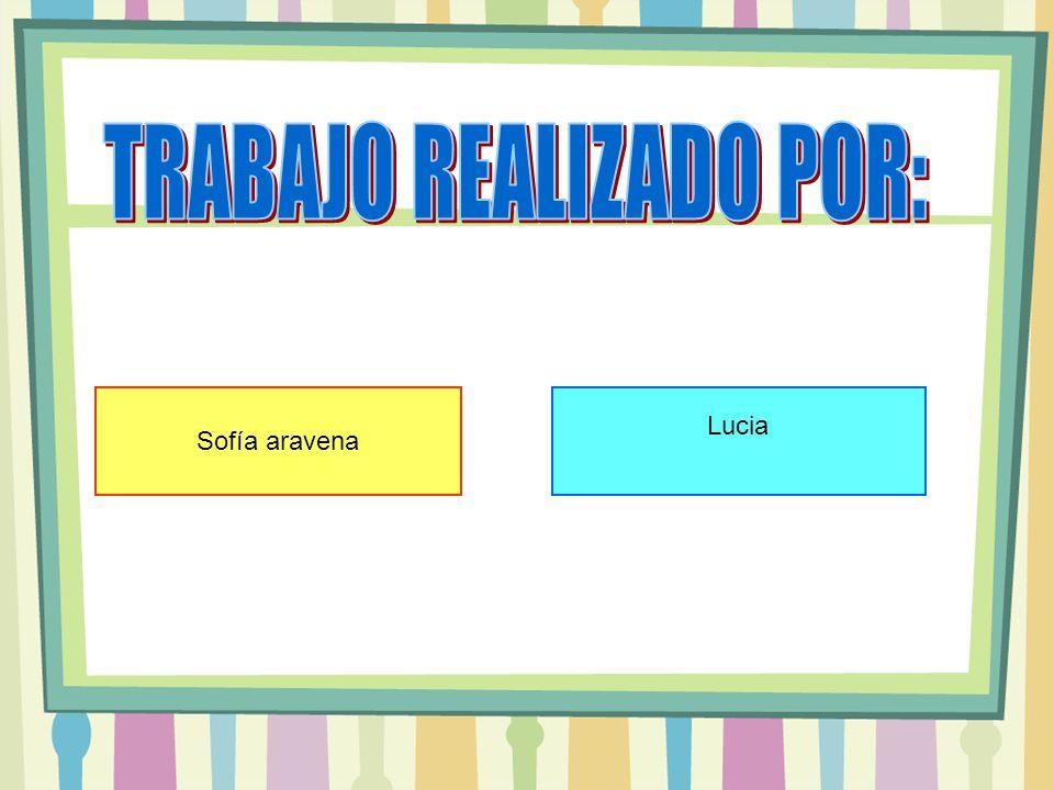 Sofía aravena Lucia
