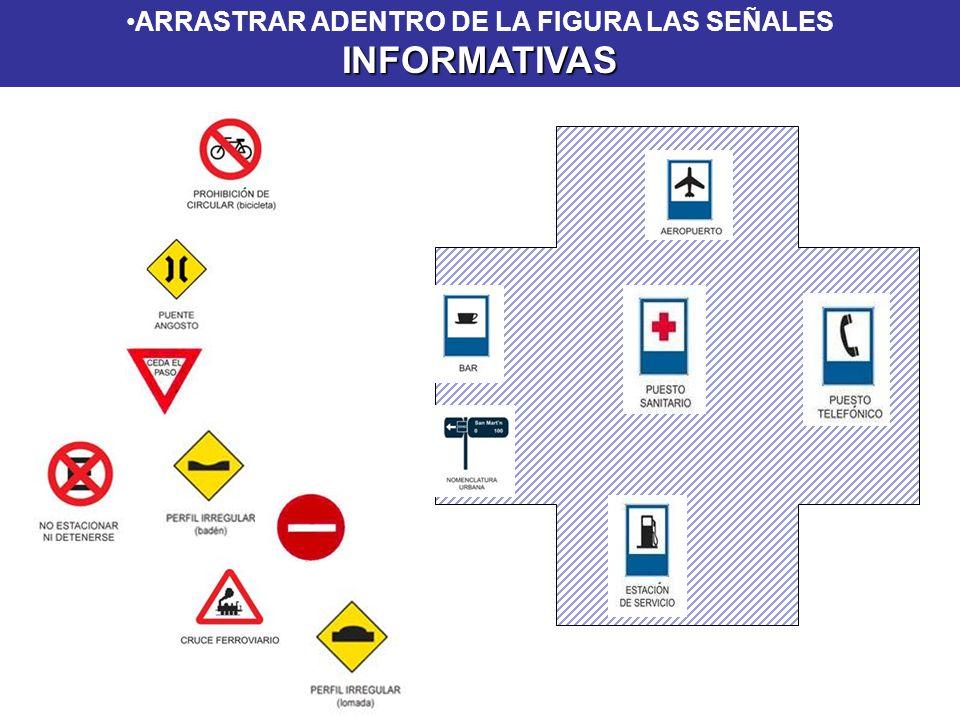 INFORMATIVASARRASTRAR ADENTRO DE LA FIGURA LAS SEÑALES INFORMATIVAS