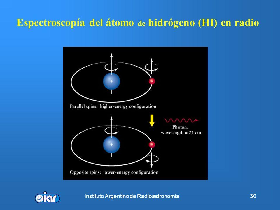 Instituto Argentino de Radioastronomía29 Estudiar las condiciones físicas de la materia en condiciones extremas (ρ~10 14 gm/cm 3, B~10 12 G, T 10 7 K)