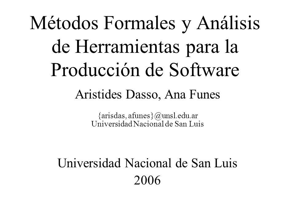 A. Dasso, A. FunesMétodos Formales...2 Aspectos Sintácticos de RSL