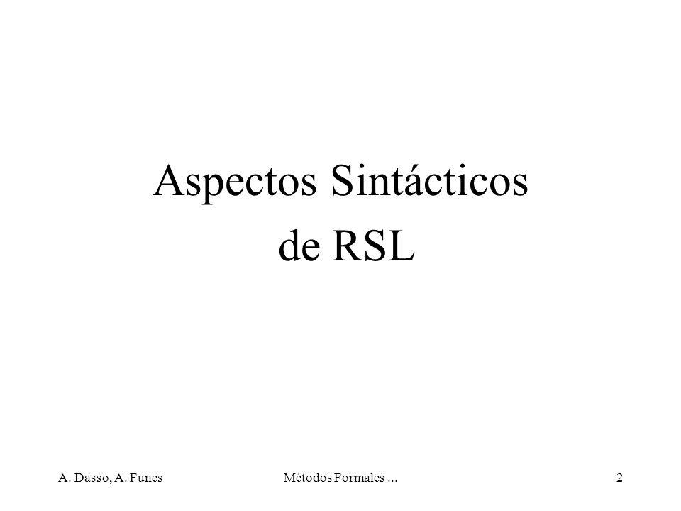 A.Dasso, A. FunesMétodos Formales...33 Funciones, ejercicios (3) 3.