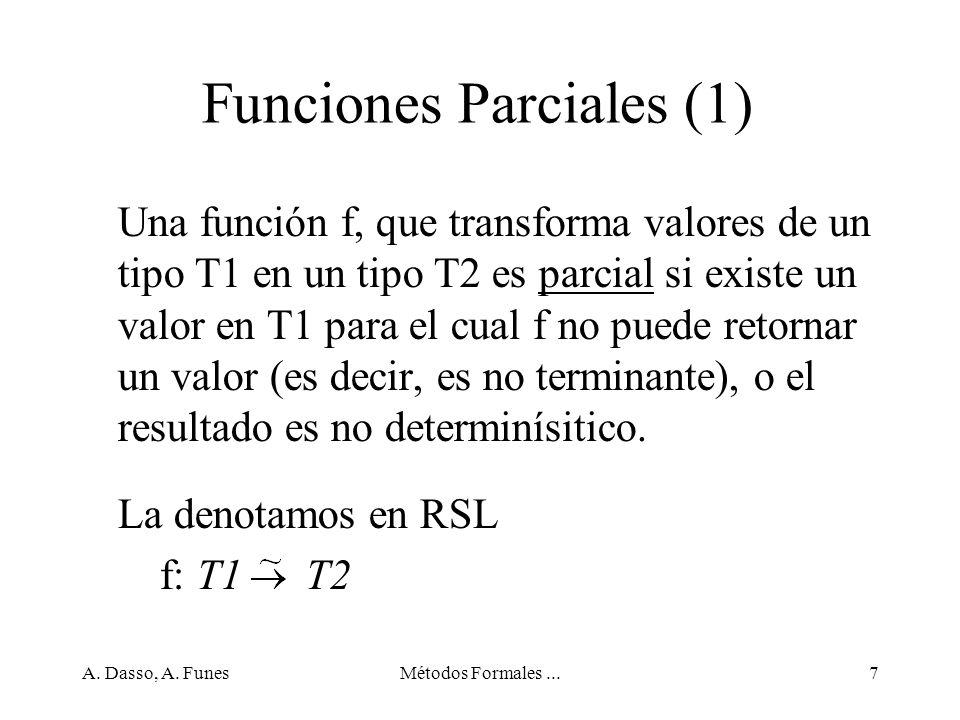 A. Dasso, A. FunesMétodos Formales...68