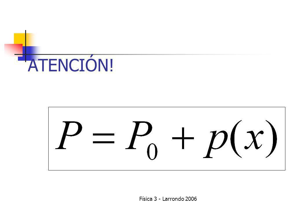 Física 3 - Larrondo 2006 LEYES DE NEWTON PARA EL CENTRO DE MASA