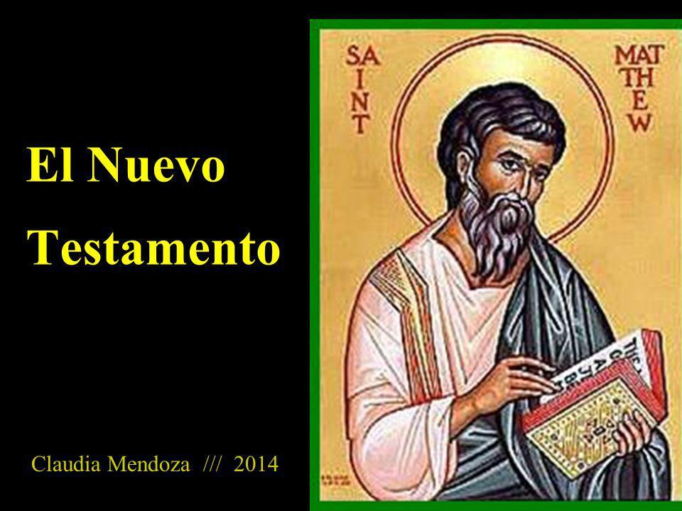El Nuevo Testamento es igual para todas las iglesias cristianas Consta de 27 libros