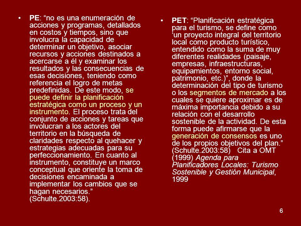 17 PATRIMONIO TURÍSTICO ATRACTIVOS TURÍSTICOS PLANTA TURÍSTICAINFRAESTRUC-TURA TURÍSTICA SUPERESTRUC-TURA TURÍSTICA