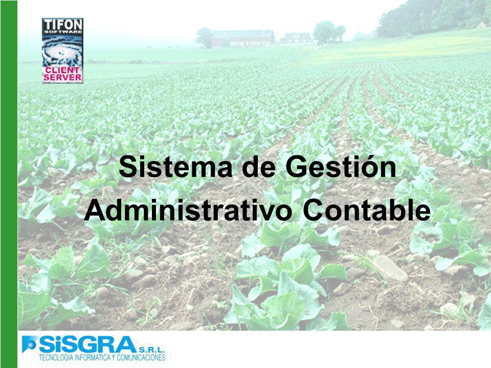 Sistema de Gestión Administrativo Contable