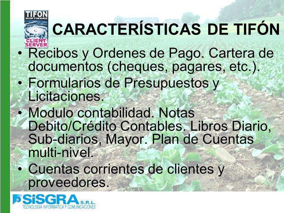 Recibos y Ordenes de Pago.Cartera de documentos (cheques, pagares, etc.).