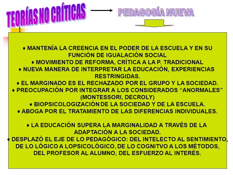 DE LA DISCIPLINA A LA ESPONTANEIDAD, DEL DIRECTIVISMO AL NO DIRECTIVISMO, DE LA CANTIDAD A LA CALIDAD.