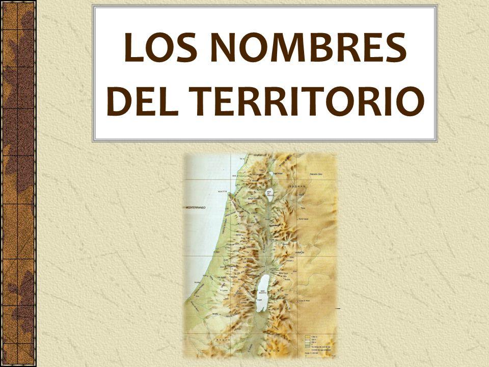 LOS NOMBRES DEL TERRITORIO