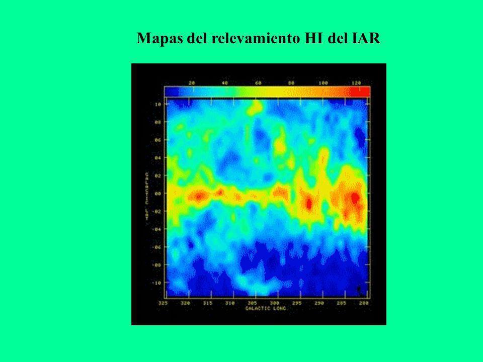 WR52, 1.5 kpc B0.5 Ib, 2.5 kpc B0 Ib, 2.5 kpc Latitud galáctica Longitud galáctica Centaurus OB1 (Humphreys, 1978) Ɵ Muscae (Cappa & Niemela, 1984) GSH305+01-24, 2.2 kpc, (McClure-Grifiths et al., 2002) GS305+04-25 HD 112244 O8.5Ia CPD -57°5809 O5V