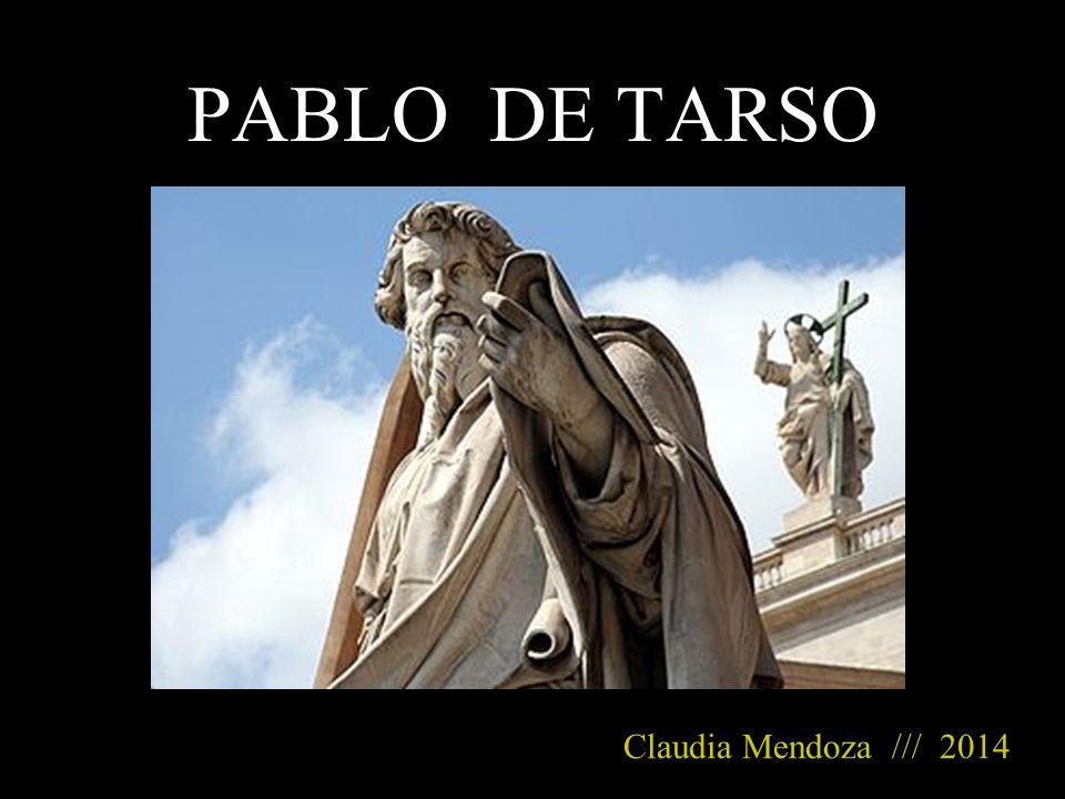PABLO DE TARSO Claudia Mendoza /// 2014