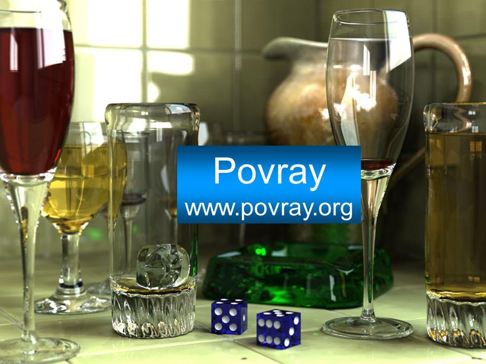 Povray www.povray.org