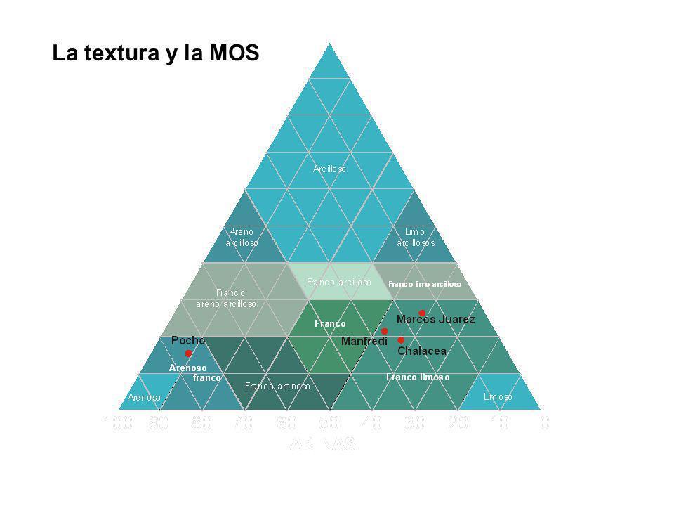 La textura y la MOS