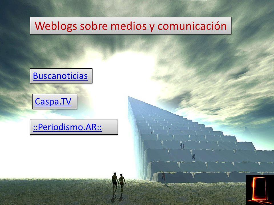 Weblogs de medios RetiarioRetiario (El Mundo) RetiarioRetiario (El Mundo) Programa Lo que yo te diga Weblog Clarín