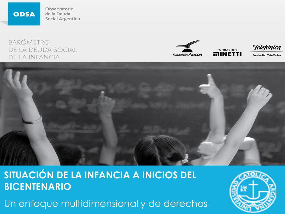 SITUACIÓN DE LA INFANCIA A INICIOS DEL BICENTENARIO Un enfoque multidimensional y de derechos