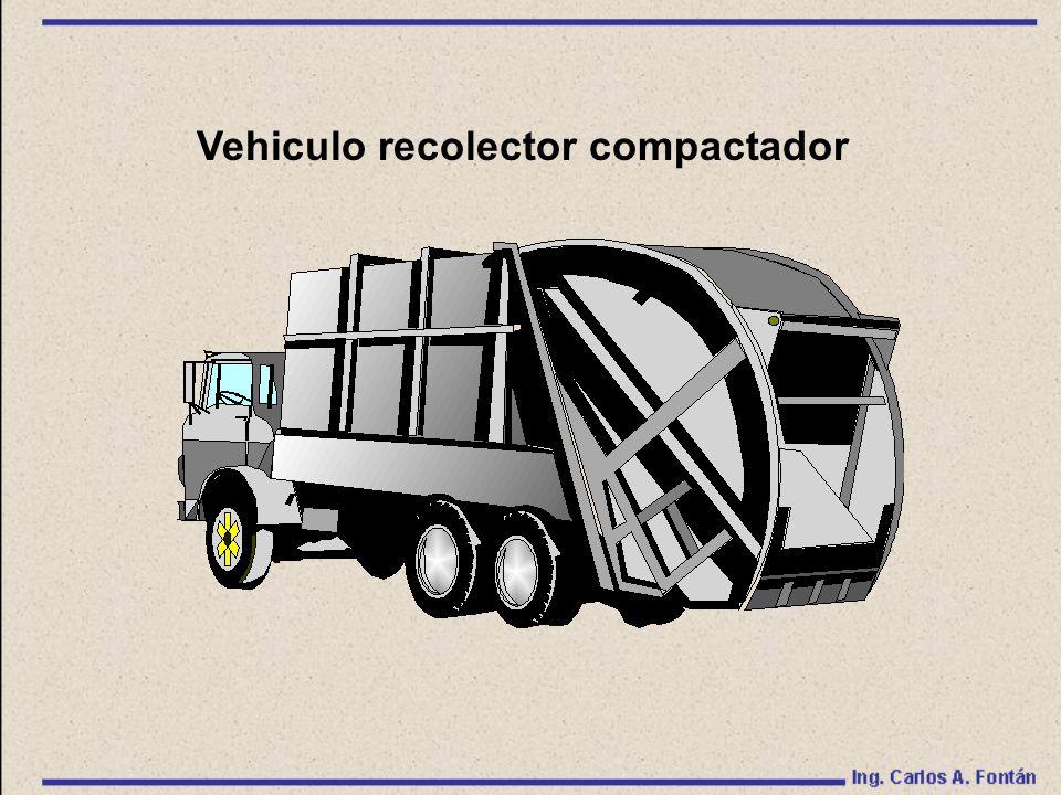 Vehiculo recolector compactador