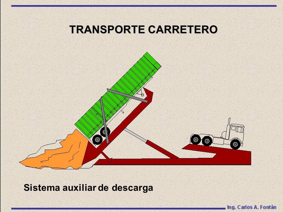 Sistema auxiliar de descarga TRANSPORTE CARRETERO