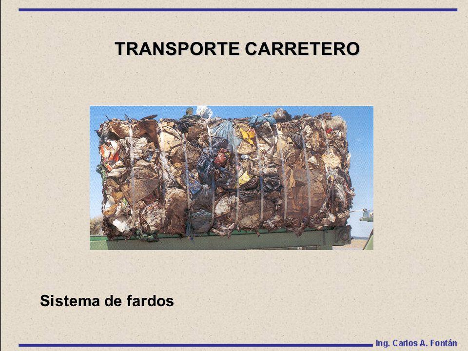 Sistema de fardos TRANSPORTE CARRETERO
