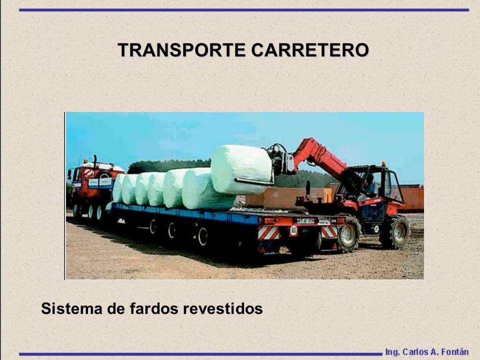 Sistema de fardos revestidos TRANSPORTE CARRETERO