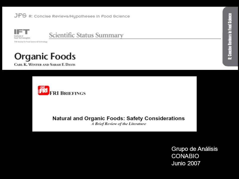 Organic Food Production Acta (OFPA) (1990 Farm Bill)
