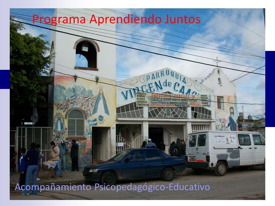 Programa Aprendiendo Juntos Acompañamiento Psicopedagógico-Educativo