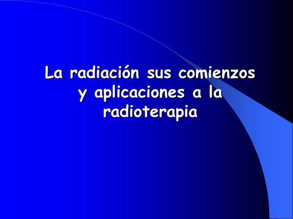 Wilhelm Conrad Röntgen (1845-1923) Primero en notar la existencia de rayos de alto poder de penetración desde un tubo de rayos catódicos, que los llamo Rayos X, el 8 Noviembre 1895.