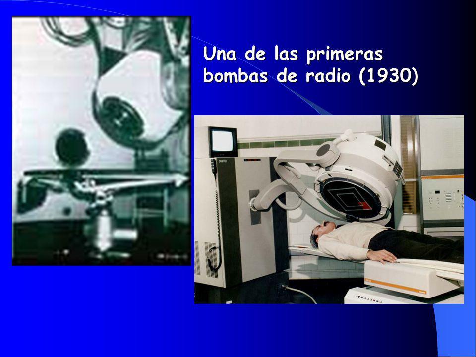 Una de las primeras bombas de radio (1930)