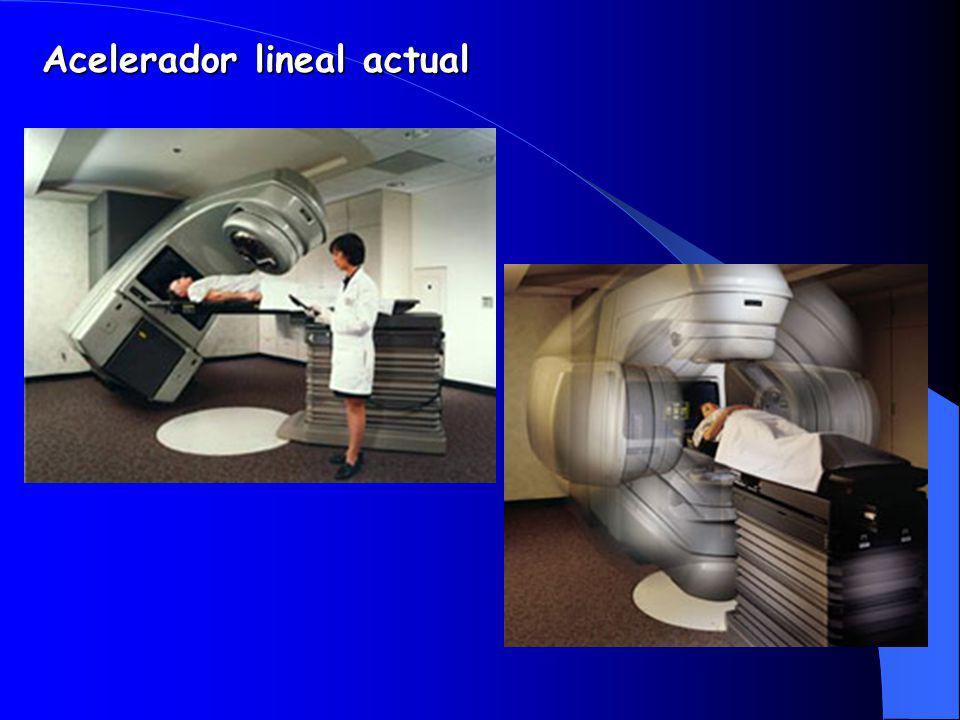 Acelerador lineal actual