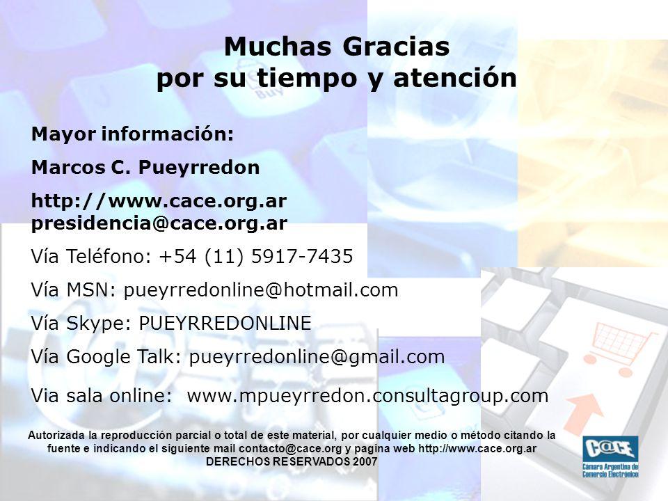 Mayor información: Marcos C.