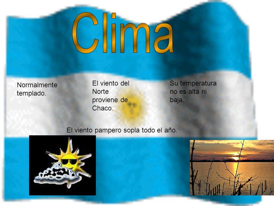 El Viento Del Norte Proviene De Chaco Pampero Sopla Todo Ano