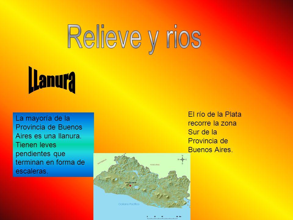 La mayoría de la Provincia de Buenos Aires es una llanura.