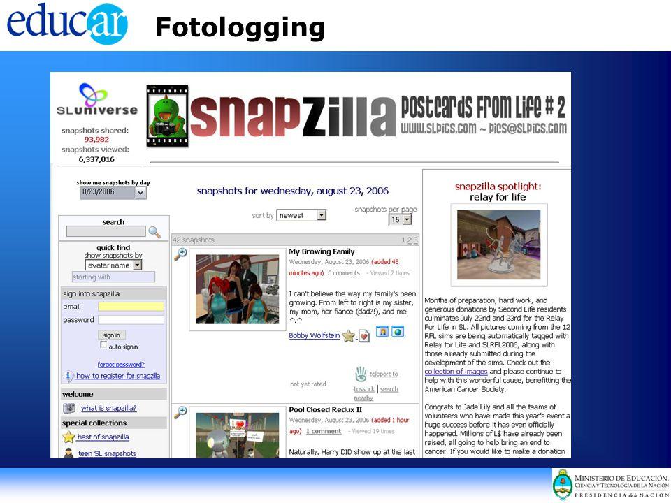 Fotologging