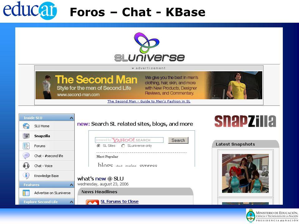 Foros – Chat - KBase