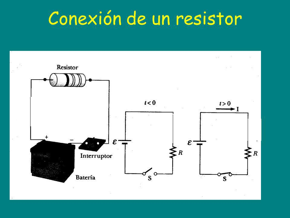 Conexión de un resistor