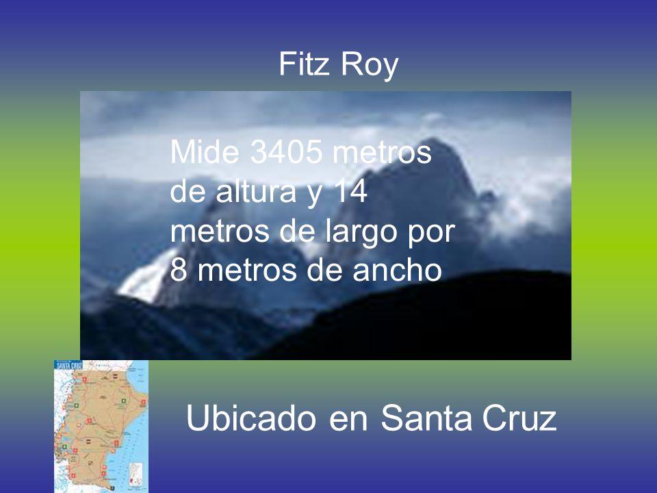 Perito Moreno Ubicado en Santa Cruz Tiene 60 metros de atura, 6 Km. de ancho y 18 Km. de largo