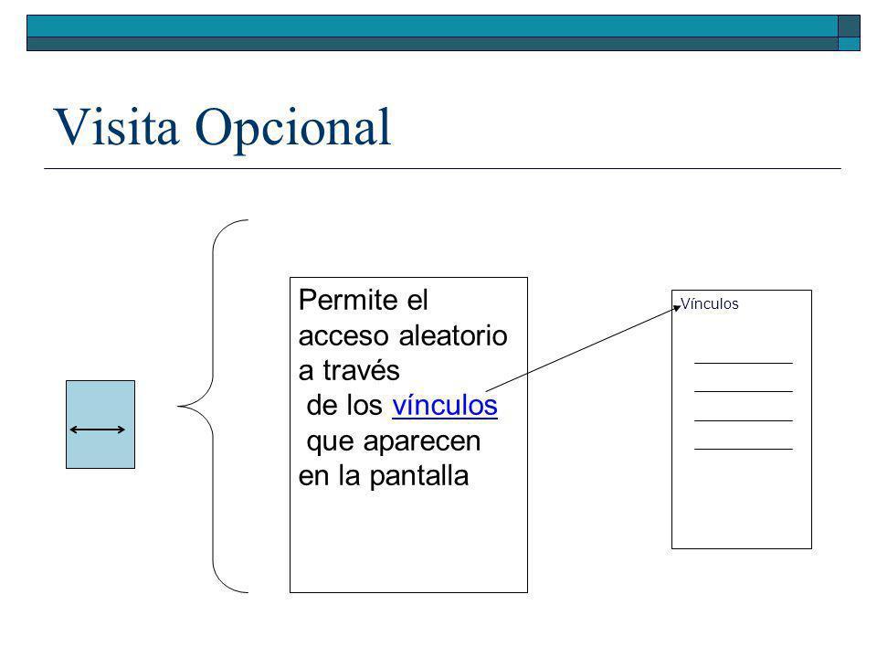 Visita Guiada Indexada Condicional ____ Lic. Cs Programador Lic. Geologia Lic. Geofíosica Lic. Cs Programador Lic. Geologia Lic. Geofíosica