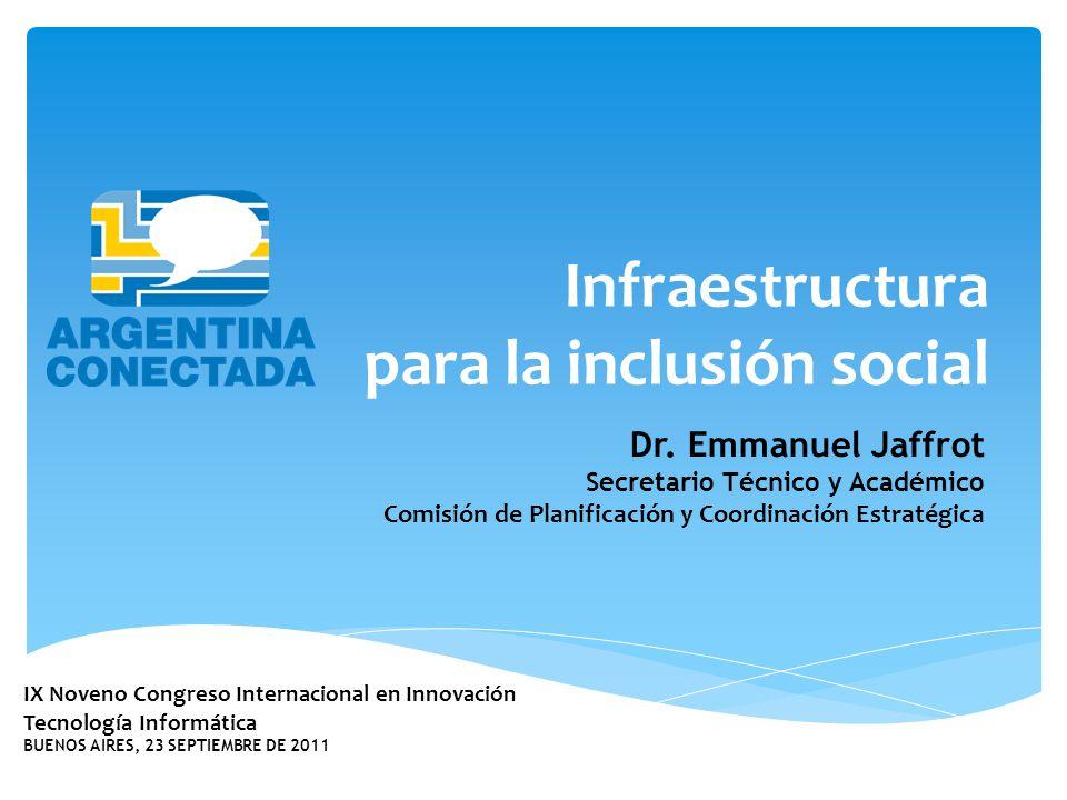 IX Noveno Congreso Internacional en Innovación Tecnología Informática BUENOS AIRES, 23 SEPTIEMBRE DE 2011 Dr.