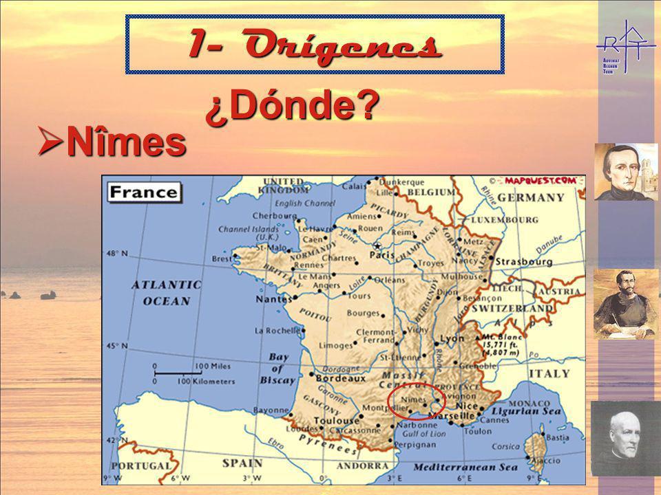 ¿Dónde? Nîmes 1- Orígenes