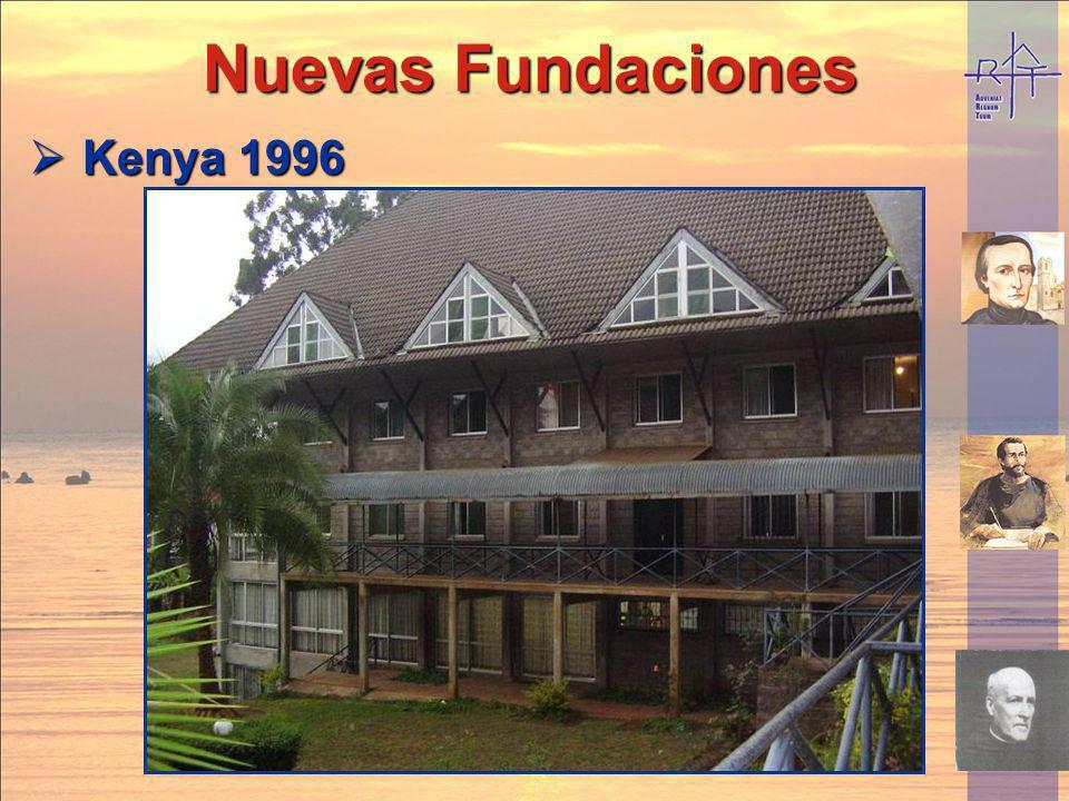 Nuevas Fundaciones Nuevas Fundaciones Kenya 1996 Kenya 1996