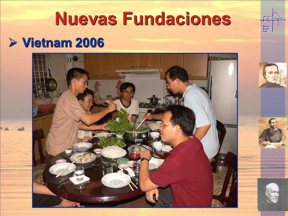Vietnam 2006 Vietnam 2006 Nuevas Fundaciones Nuevas Fundaciones