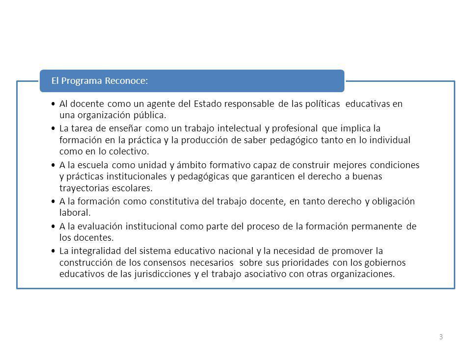Al docente como un agente del Estado responsable de las políticas educativas en una organización pública.