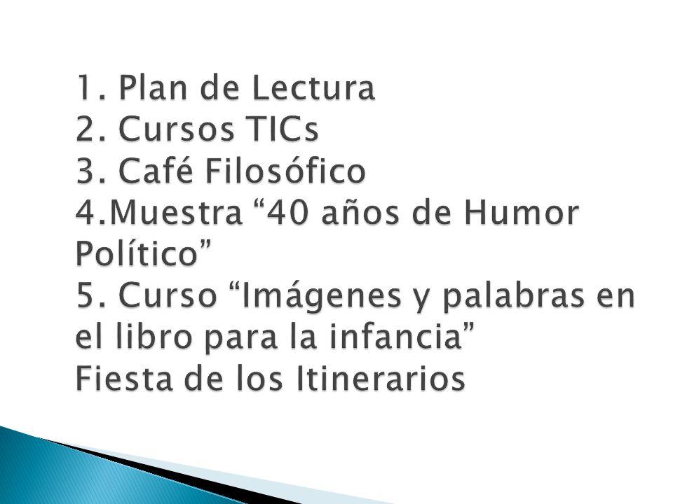 Leyendo En/cuentros para el Profesorado de Educación Primaria: Martes 16 de Setiembre desde las 20,30 en cada curso Coordinan: estudiantes de 2º B y Prof.